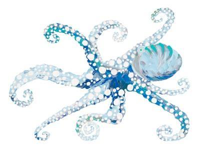 Azul Dotted Octopus II