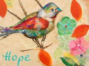 Band of Inspired Birds III (Hope) by Gina Ritter