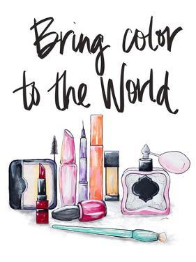 Bring Color to the World by Gina Ritter