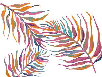 Colorful Palm Leaves II