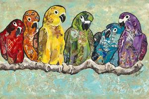 Flock of Colors by Gina Ritter
