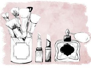 Makeup Set on Blush by Gina Ritter