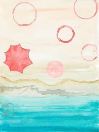 Watercolor Beach Stains I