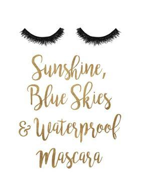 Waterproof Mascara by Gina Ritter