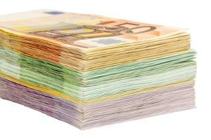 Many Different Euro Bills by ginasanders