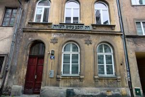 The City of Krakow in Poland. Jewish Synagogue by ginasanders