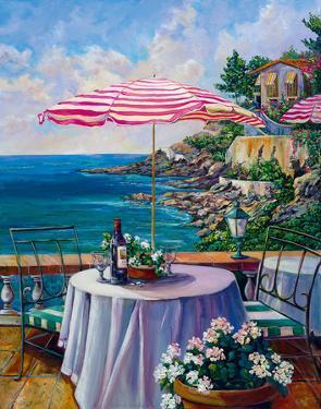 Dejeuner Sur La Cote D'azur II by Ginger Cook
