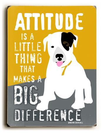 Attitude is a little thing by Ginger Oliphant