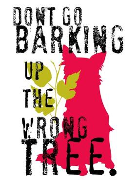 Don't Go Barking by Ginger Oliphant