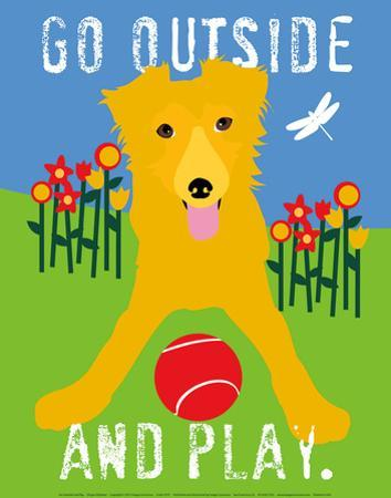 Go Outside and Play by Ginger Oliphant