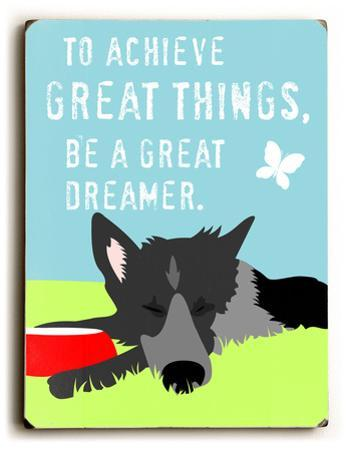 To achieve great things by Ginger Oliphant