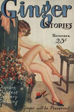 Ginger Stories, Erotica Pulp Fiction Magazine, USA, 1927