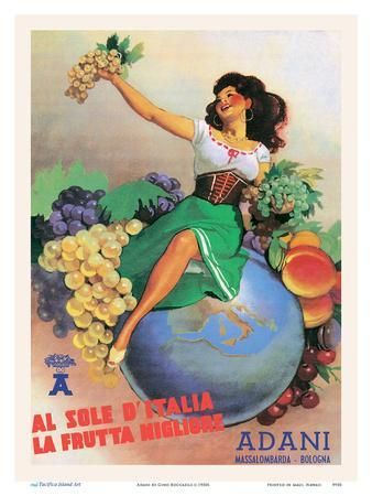 From The Sun In Italy Comes The Best Fruit - Adani Wine