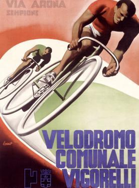 Velodromo Communale Vigorelli by Gino Boccasile