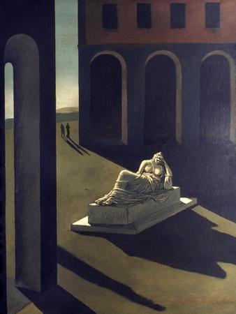 Chirico: Melancolie, 1914