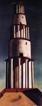 La Grande Torre by Giorgio De Chirico