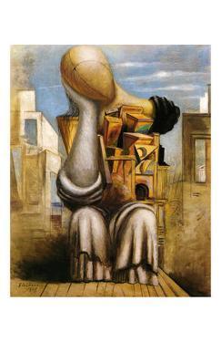 Les Jeux Terribles, c.1925 by Giorgio De Chirico