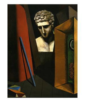 Melancolie Hermetique, c.1918 by Giorgio De Chirico