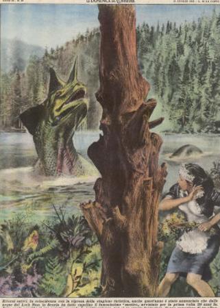Loch Ness Monster by Giorgio De Gaspari