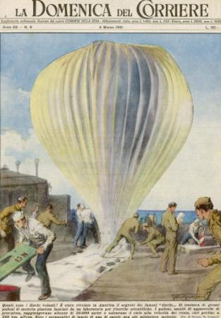 Weather Balloons Have Been the Cause of Many UFO Identifications by Giorgio De Gaspari