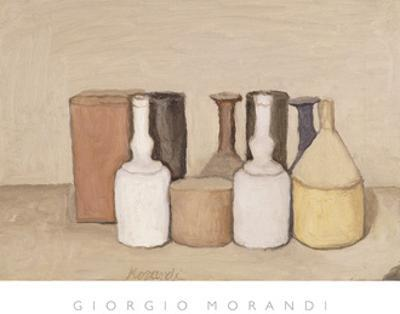 Still Life; Natura Morta, 1953 by Giorgio Morandi