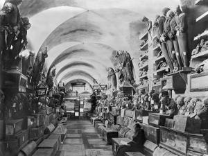 Mummies of Catacomb of Palermo, Italy by Giorgio Sommer