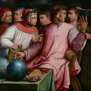 Six Tuscan Poets, 1544 by Giorgio Vasari