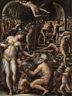 The Furnace of Volcano, 1563-1565 by Giorgio Vasari