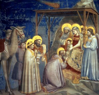 Adoration of the Magi, circa 1305 by Giotto di Bondone