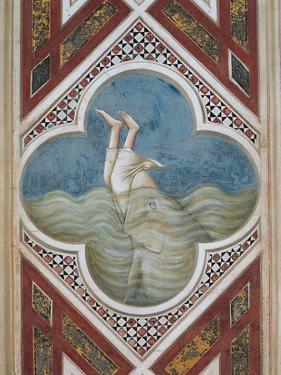 Jonah and the Whale by Giotto di Bondone