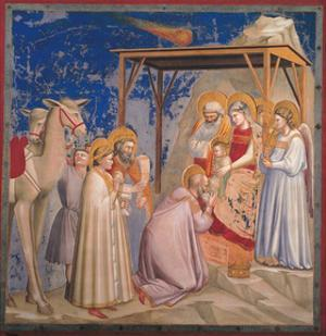 Life of Christ, The Adoration of the Magi by Giotto di Bondone