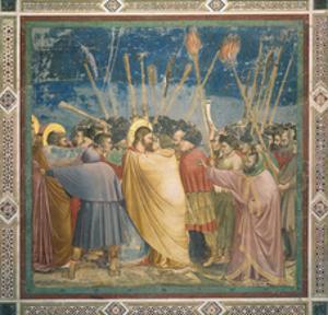 Passion, The Kiss of Judas by Giotto di Bondone