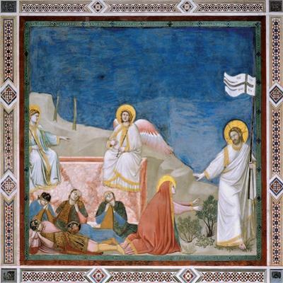 Passion, The Resurrection by Giotto di Bondone