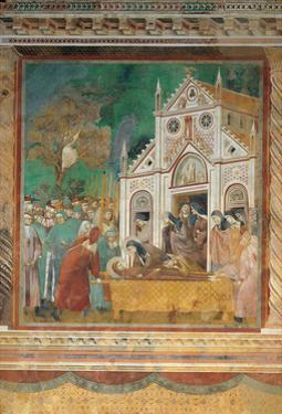 St. Francis Mourned by St. Clare by Giotto di Bondone