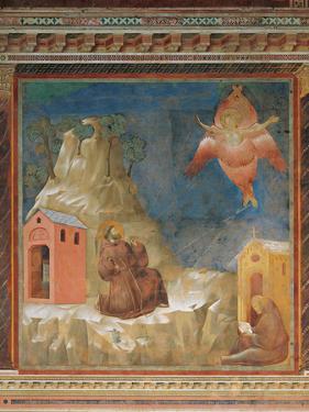 St Francis Receiving the Stigmata by Giotto di Bondone