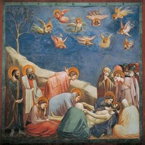 Stories of the Passion, Mourning over Dead Christ by Giotto di Bondone