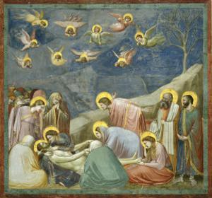 The Lamentation by Giotto di Bondone
