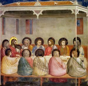 The Last Supper, circa 1305 by Giotto di Bondone
