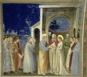 The Marriage of the Virgin, circa 1305 by Giotto di Bondone
