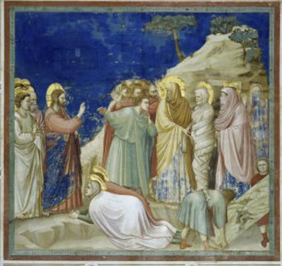 The Raising of Lazarus by Giotto di Bondone