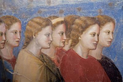 Women, Fresco cycle by Giotto di Bondone