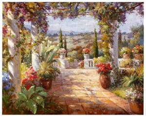 View from Terrace by Giovanna