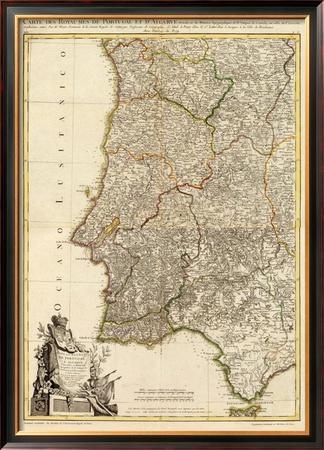 Composite: Portugal, Algarve, c.1780 by Giovanni Antonio Bartolomeo Rizzi Zannoni