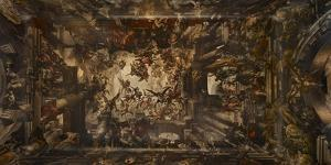Ceiling Fresco. Martyrdom and Glory of St Pantalon by Giovanni Antonio Fumiani