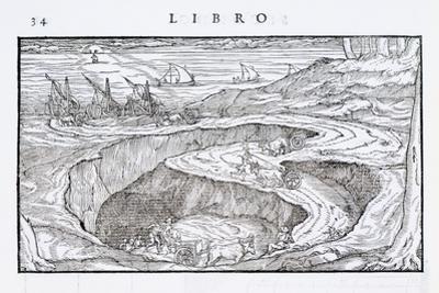 Illustration of a Mining Pit