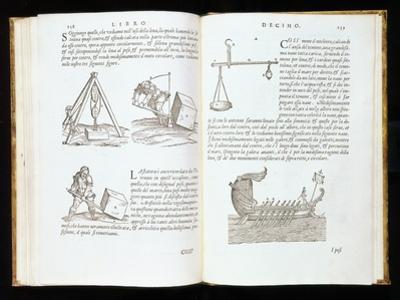 Illustration of Procedure for Removing Blocks of Stone