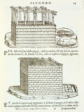 Illustration of Vernacular Architecture