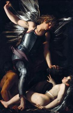 Divine Love Defeats Earthly Love by Giovanni Baglione