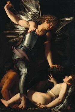 The Divine Eros Defeats the Earthly Eros, Ca 1602 by Giovanni Baglione
