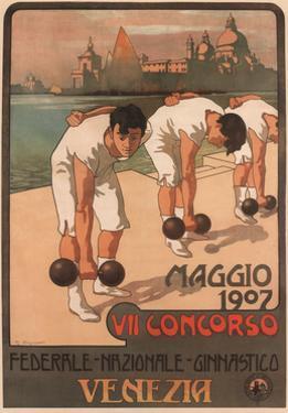 Vii Federal Gymnastics Competition, 1907 by Giovanni Battista Carpanetto